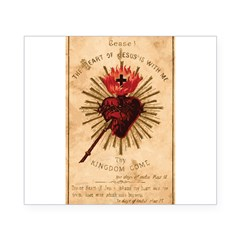 Sacred Heart of Jesu Beer Label