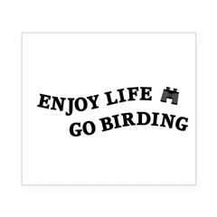 Enjoy Life Go Birding Beer Label