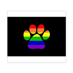 Paw Pride - Black Small Beer Label