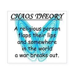 Chaos Theory - War Beer Label
