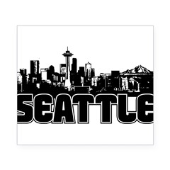 Seattle Skyline Beer Label