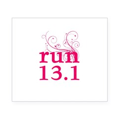 run 13.1 Beer Label