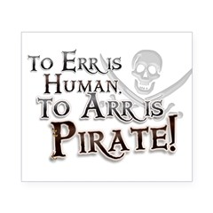 To Arr is Pirate! Funny Beer Label