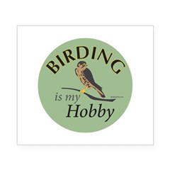 Birding is my HOBBY Beer Label