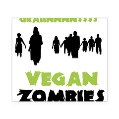 Vegan Zombie Beer Label