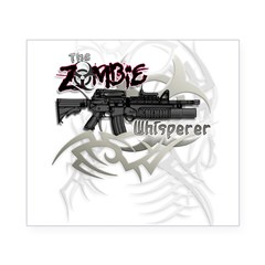 Zombie Whisperer Hunter M16 Beer Label