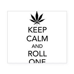 Keep calm and roll one Beer Label