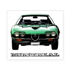 Alfa Romeo Montreal Beer Label