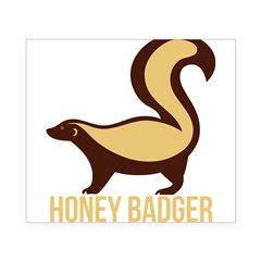 Honey Badger BadAs Beer Label