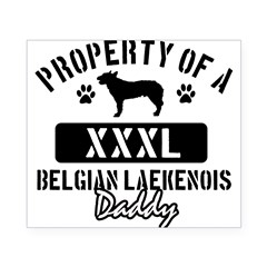 Belgian Laekenois Daddy Design Beer Label