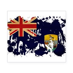 Saint Helena Flag Beer Label