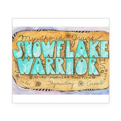 Snowflake Warrior Beer Label