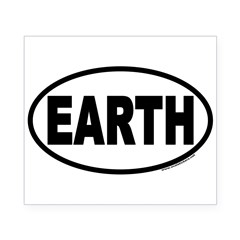 Earth Day EARTH Euro Oval Beer Label