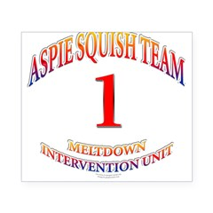 Aspie Squish Team Oval Beer Label
