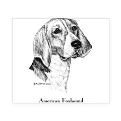 American Foxhound Beer Label