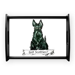 got scotties trans 10x10.png Large Serving Tray