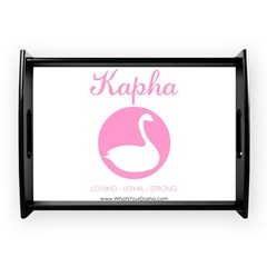 Kapha swan Large Serving Tray