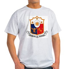 Philippines Coat of Arms Light T-Shirt
