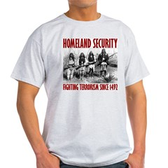 homelandsecurity3 Light T-Shirt