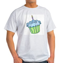 Cute Cupcake (blue) Light T-Shirt