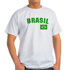 BRAZIL-BLACK-worn Light T-Shirt