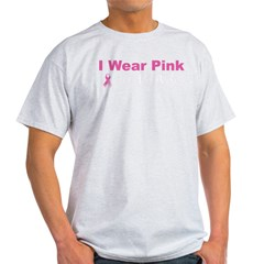 iwearpinkformywifeblack Light T-Shirt