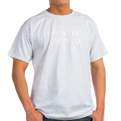 WhiteGuac10x10 Light T-Shirt