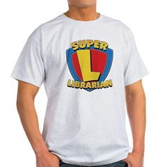 SuperLibrarianDrkT Light T-Shirt