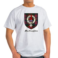 MacNaughton Clan Crest Tartan Light T-Shirt