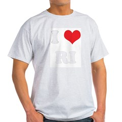 I Heart RI Light T-Shirt