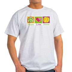 Peace Love Tennis Light T-Shirt