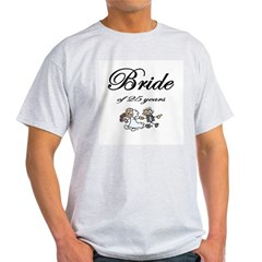 25th Wedding Anniversary Gifts Light T-Shirt