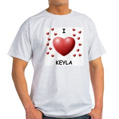 I Love Keyla - Light T-Shirt