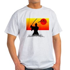 Samurai in Sun Light T-Shirt
