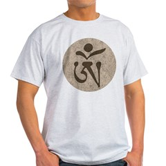 TibetanOm1Bk Light T-Shirt