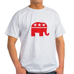 Republican Elephant Logo-Single Color Light T-Shirt