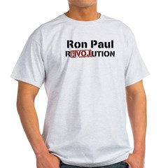 Ron Paul 2012 Light T-Shirt