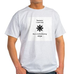 rowing ninja copy Light T-Shirt