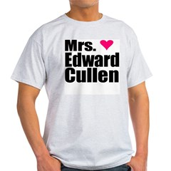 Mrs. Edward Cullen Light T-Shirt