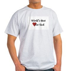World's Best Vet Tech Light T-Shirt