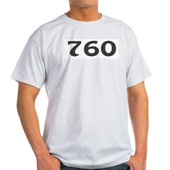 760 Area Code Light T-Shirt