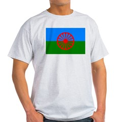 Romani Flag (Gypsies Flag) Light T-Shirt