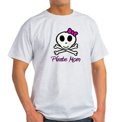 Pirate Mom Light T-Shirt