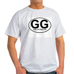 Galts Gulch Custom Tee Light T-Shirt