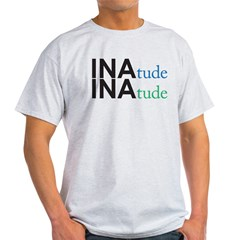 inatude logo for print Light T-Shirt