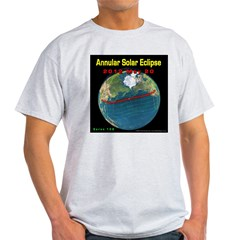 2012 Annular Solar Eclipse Light T-Shirt