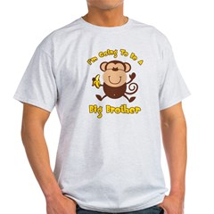 Monkey Future Big Brother Light T-Shirt