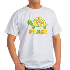 PeaceTurtle3 Light T-Shirt