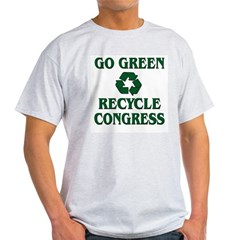 Go Green - Recycle Congress Light T-Shirt