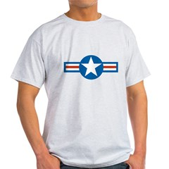 usaf_roundel_air_force copy Light T-Shirt
